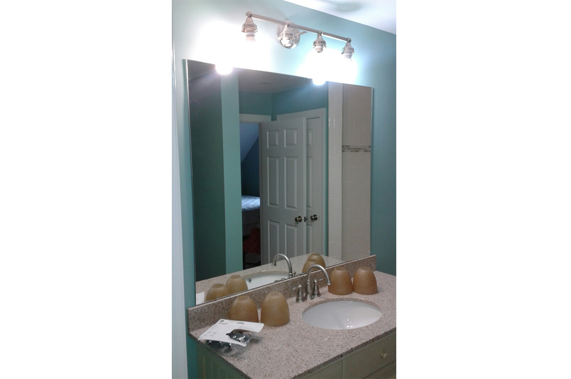 Olde Stone Home Mirror Project